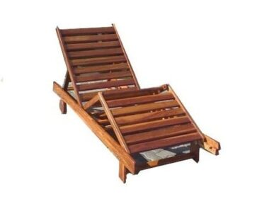 BAY SUN LOUNGER 'solid teak'