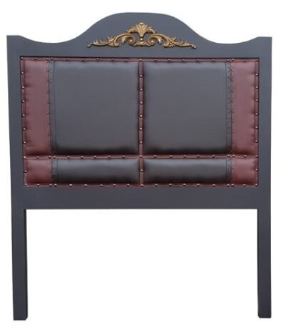 HEADBOARD (QUEEN) 2TONE/X-STITCH