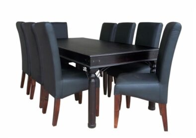 ANNA 9PC DINING SET SPECIAL (BONDED PU)