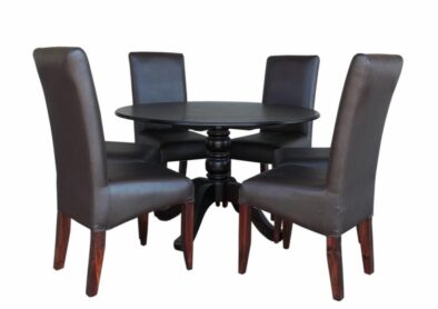 ANTIQUE 7PC DINING SET SPECIAL (BONDED PU)
