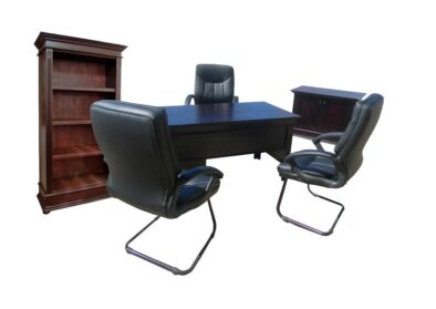 ANTIQUE 7PC OFFICE *COMBO* 'MUSTANG'
