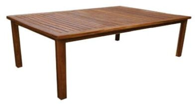 BAY 10SEATER TABLE (2400 x 1600) 'SOLID TEAK'