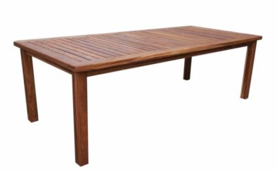 BAY 8 SEATER table (2400 X 1100) 'SOLID TEAK'