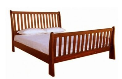 BUD SLEIGH BED (DOUBLE) 'OREGON'