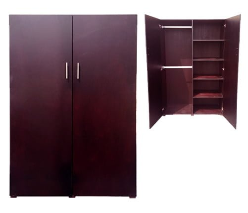 Lighting Warehouse Randburg Contact: WARDROBE VENEERED 'LIGHT MAHOGANY