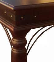 ANNA COFFEE TABLE (1200 x 600) 'LIGHT MAHOGANY'