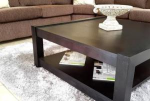 MOD COFFEE TABLE (1200 X 700) 'DARK MAHOGANY'