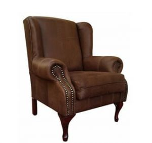 WINCHESTER WINGBACK 'LEATHER BUFFED' brown