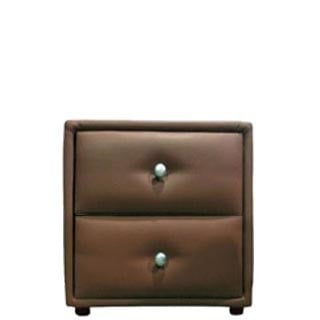 AMELIA PEDESTAL 'PU' brown