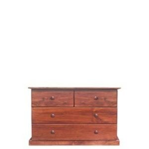 BUD CHEST TALL 2X2 DRAWER -OREGON-