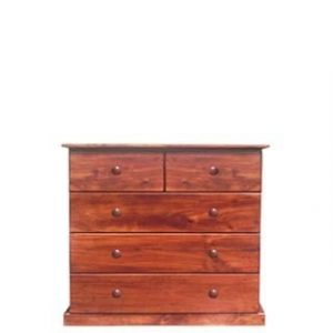 BUD CHEST TALL 2X3 DRAWER -OREGON-