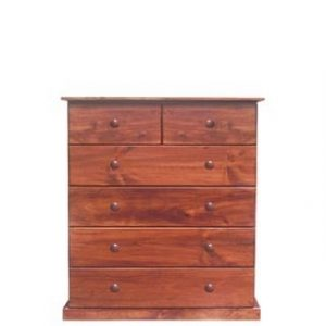 BUD CHEST TALL 2X4 DRAWER -OREGON-