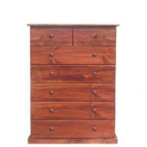 BUD CHEST TALL 2X5 DRAWER -OREGON-