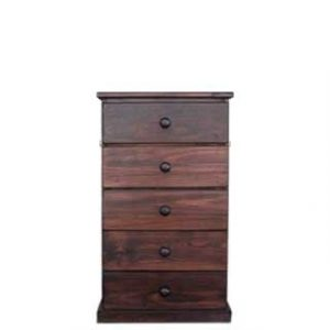 BUD CHEST 5DRAWER -MAHOHANY-