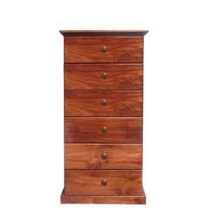 BUD CHEST 6 DRAWER -OREGON-