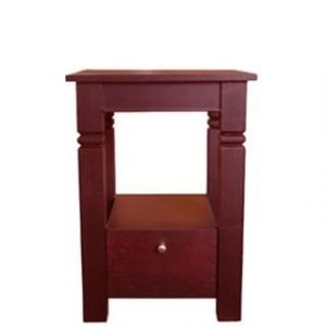 DENISE PEDESTAL 1 DRAWER 'LIGHT MAHOGANY'