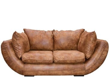GORDINI 2SEATER SOFA (2230 X 1050) 'PAMPER' light