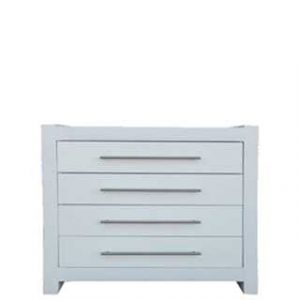 MOD 4 DRAWER CHEST 'WHITE'