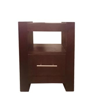 MOD S PEDESTAL 1 DRAWER 'LIGHT MAHOGANY'