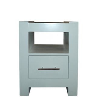 MOD S PEDESTAL 1 DRAWER 'WHITE'