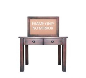 BUD DRESSING TABLE -MAHOGANY-