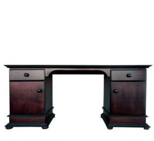 ANTIQUE DRESSING TABLE 'DARK MAHOGANY'