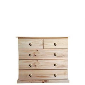 BUD CHEST TALL 2X3 DRAWER -VARNISHED-