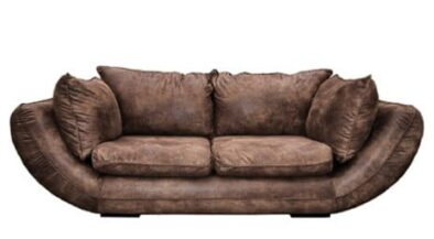 GORDINI 3SEATER SOFA (2540 X 1050) 'PAMPER' dark