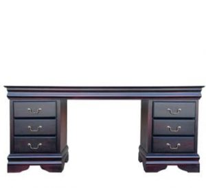 KAREN DRESSING TABLE 'DARK MAHOGANY'