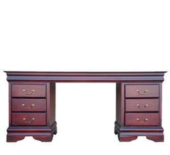 KAREN DRESSING TABLE 'LIGHT MAHOGANY'