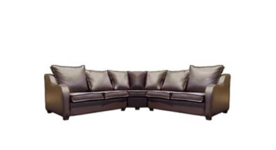 LOGAN CORNER UNIT 2+2+C (2380 X 2380 X 900) 'BONDED PU' brown