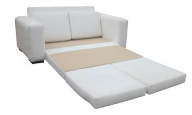MOD SLEEPER COUCH 'BONDED PU' -white-