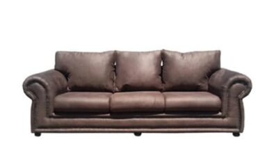 ROXANNE 3SEATER SOFA (2500 X 900) 'PAMPER' dark