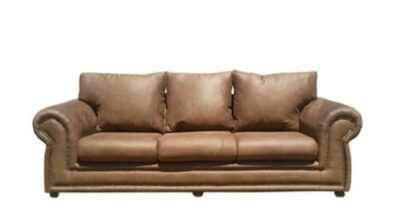 ROXANNE 3SEATER SOFA (2500 X 900) 'PAMPER' light