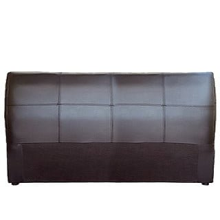 AMELIA HEADBOARD (DOUBLE) 'BONDED PU' brown