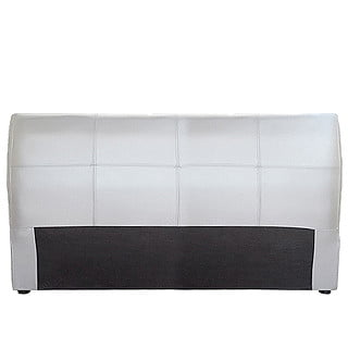 AMELIA HEADBOARD (DOUBLE) 'BONDED PU' white