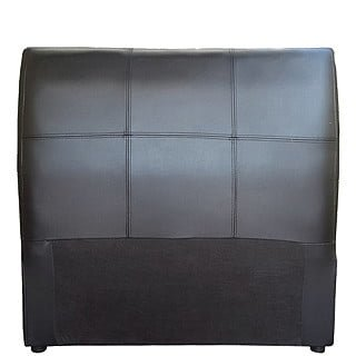AMELIA HEADBOARD (SINGLE) 'BONDED PU' black