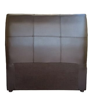 AMELIA HEADBOARD (SINGLE) 'BONDED PU' brown