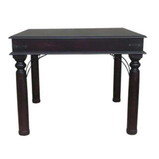 ANNA DINING TABLE (1000 X 1000) 'DARK MAHOGANY'