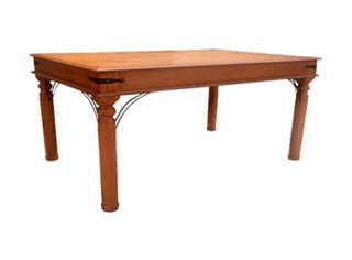 ANNA DINING TABLE (2050 X 1000) 'ANTIQUE'