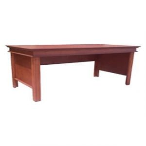 ANTIQUE DESK (2100 x 1200) 'LIGHT MAHOGANY'