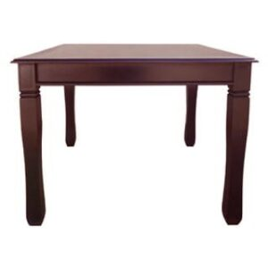 BALTIMORE DINING TABLE (1000 X 1000) 'LIGHT MAHOGANY'