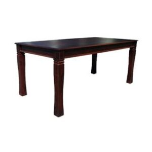 BALTIMORE DINING TABLE (1500 X 1000) 'DARK MAHOGANY'