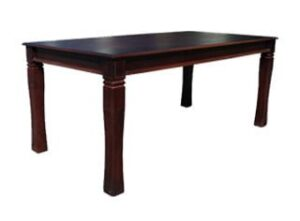 BALTIMORE DINING TABLE (2050 X 1000) 'DARK MAHOGANY'