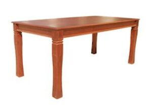BALTIMORE DINING TABLE (2050 X 1000) 'ANTIQUE'