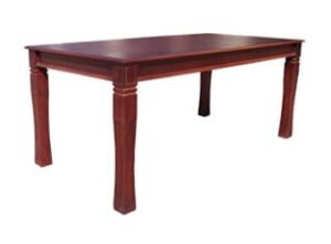 BALTIMORE DINING TABLE (2050 X 1000) 'LIGHT MAHOGANY'