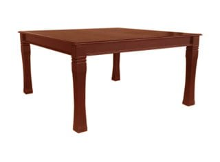 BALTIMORE DINING TABLE (1500 X 1500) 'LIGHT MAHOGANY'