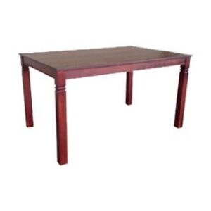 DENISE DINING TABLE (1500 X 1000) 'LIGHT MAHOGANY'