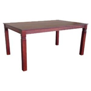 DENISE DINING TABLE (1800 X 1000) 'LIGHT MAHOGANY'