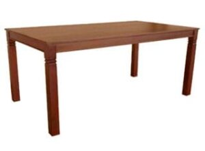 DENISE DINING TABLE (2400 X 1000) 'LIGHT MAHOGANY'